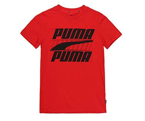 PUMA Rebel Bold Jungen T-Shirt High Risk Red 164