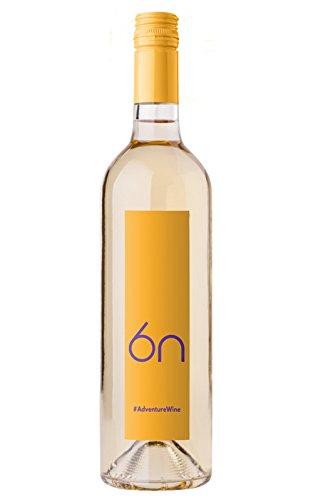 6n Adventure orange Chardonnay halbsüß - Veganer Wein ohne Gelatine