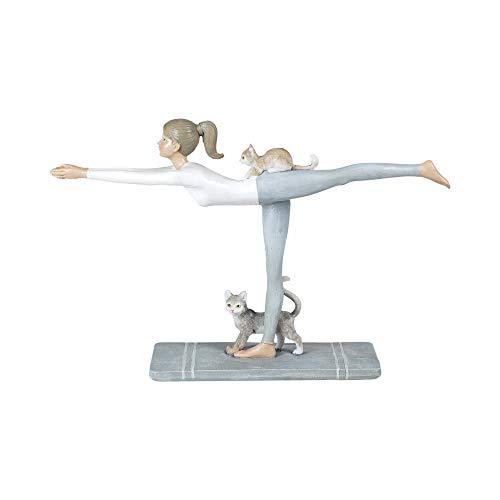 Vidal Regalos Figura Decorativa Clasica Chica Yoga Resina 29 cm