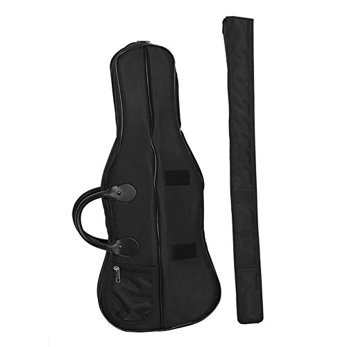 Handtas voor viool, met koffer voor strijkstok Oxford waterdichte zachte koffer 4/4 viool 2 stuks/set Beschermende accessoires voor viool