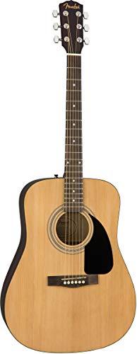Fender 0950816021-COMBO-DLX Acoustic Guitar Bundle with Gig Bag,...