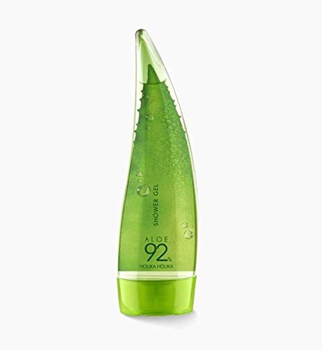 質素なリットルする必要がある[holika holika] ALOE92% Shower Gel 250ml / [ホリカホリカ]アロエ92%シャワージェル250ml [並行輸入品]