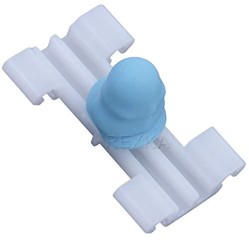 Rexka 25 pcs Side Moulding Door Trim Clips Clamp Compatible with BMW 51138231130 E46 323i 325i 325xi 328i 330i 330xi 51-13-8-231-130