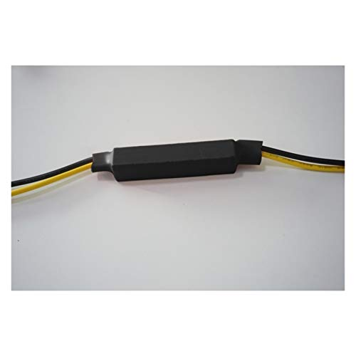 HXFANG® 4pcs 12V Motocicleta de la señal de giro de la señal de encendido Adaptador de Fijación Indicador de Error Indicador LED Decoder LED Lámpara Lámpara Cancelador FOG FLAM ASISTOR * Ahora calient