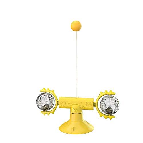 DingCheng Katzen-Windmühle mit Katzenminze-Ball