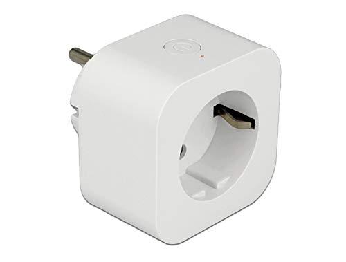 DeLock 11826 WiFi Steckdose (Smart Plug), Weiß