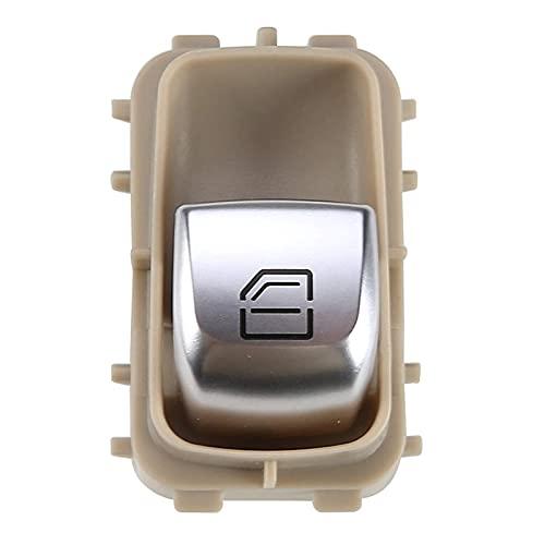 XINGXING WTQEE Store Interruptor de la Ventana eléctrica 2229051904 FIT para Mercedes-Benz Clase E Clase S W213 W217 W222 W247 Accesorios de Coche (Color : Beige)