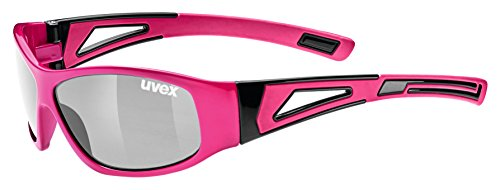 uvex Unisex Jugend, sportstyle 509 Sonnenbrille, pink/silver, one size