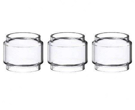 Smok Bulb Pyrex Ersatzglas für TFV12 Prince Tank -8ml, Glas ersatz Enthält Kein Nikotin(3 Stück)