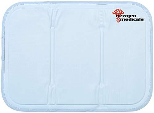 Newgen Medicals Kühlkissen: Kühlende Kissenauflage, 30 x 40 cm, blau (Kühlendes Kissen)