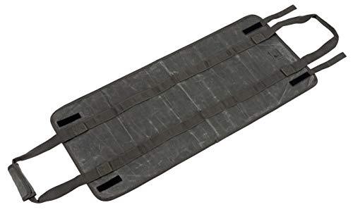 キャプテンスタッグ(CAPTAIN STAG) アウトドア バッグ 薪バッグ 薪ケース 綿帆布 オリーブ UL-2045 使用サイズ:(約)幅400×全長900mm(持ち手含まず)