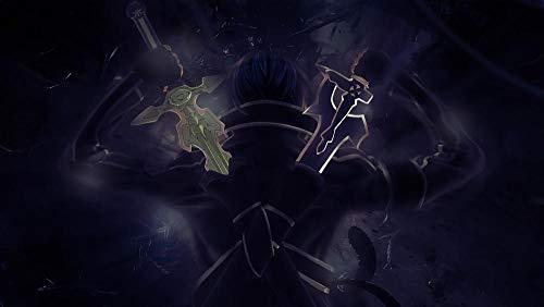 Lv5Panel Puzzles Rompecabezas-Juego De Rompecabezas De Madera De 1000 Piezas Para Adultos Niños Puzzle Juguetes Decoración Del Hogar Paisaje Sword Art Online Anime& Regalos De Cumpleanos
