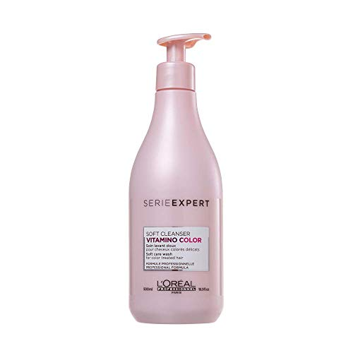 L'Oreal Professional LORHP-68771 Serie Expert Vitamino Color Soft Cleanser Shampoo 500ml