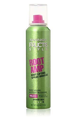 Garnier Fructis Root Amp Root Lifting Spray Mousse, 5 oz (Pack of 3)
