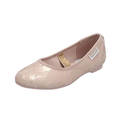Dockers by Gerli 42DO204-680 Damen Ballerinas Rosa Slippers Espadrilles Loafer, Größe:EUR 40