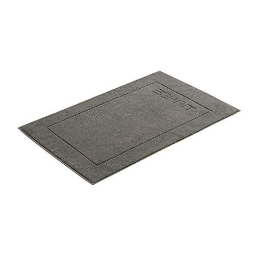 ESPRIT Badeteppich Solid Anthracite, 60 x 90 cm