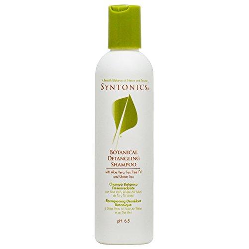 Syntonics Botanical Detangling Shampoo with Aloe Vera, Tea Tree Oil and Green Tea 8oz