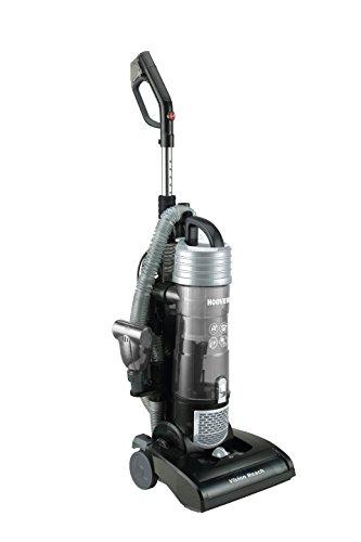 Hoover Vision Reach 39100502, 31 VR 10 Aspirapolvere per Tutti i Pavimenti duri e Moquette, 5 Livelli di Regolazione dellaltezza del Pelo, Adatto, Nero, 0, 350 W, 3 Litri, 80 decibeles