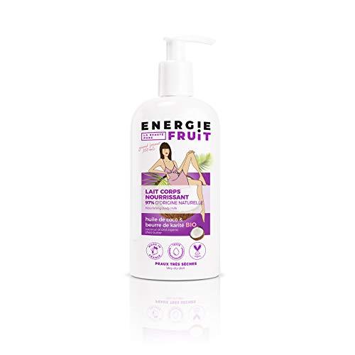 Energie Fruit Lait Hydratant sans Silicone Coco/Huile d'Argan Bio