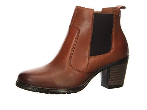 Salamander Damen Stiefelette Roky Chelsea Boots braun Gr. 37