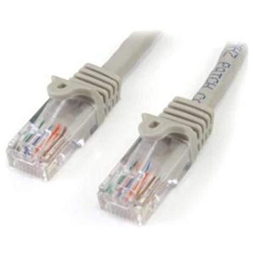 StarTech.com 45PAT2MGR - Cable de 2m Red Fast Ethernet Cat5e RJ45 sin...