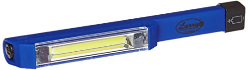 Nebo 6351 Larry C 170 lm C-O-B LED Power Work Flashlight with 3 AAA Batteries Included, Blue
