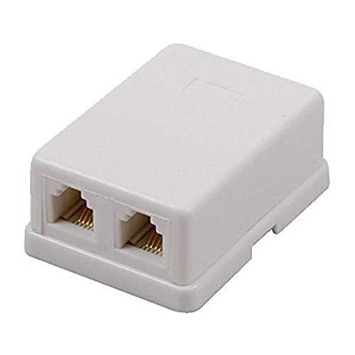 Audiovox TP2662WHR bianco Dual mod jack