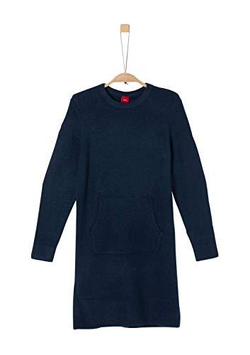 s.Oliver Mädchen 66.909.82.2998 Kleid, Blau (Dark Blue 5952), 146 (Herstellergröße: 146/REG)