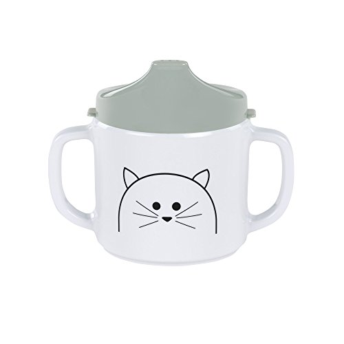 Laessig 1310007108 Melamine Sippy Cup, Little Chums Cat