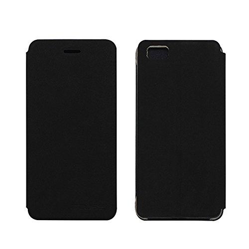 Tasche für Ulefone Future Hülle, Ycloud PU Ledertasche Metal Smartphone Flip Cover Hülle Handyhülle mit Stand Function Schwarz