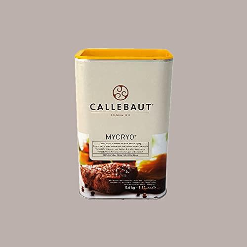 Lucgel Srl 600 gr Burro di Cacao Mycryo In Polvere Puro 100% CALLEBAUT   per Cioccolato   Grasso Vegetale per Friggere e Grigliare