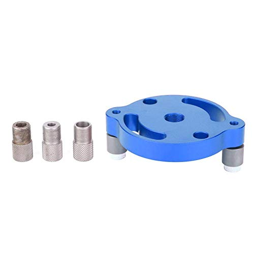 Find Bargain Wood Panel Hole Puncher Aluminum Alloy Center Punching Gauge Woodworking Tool Precise P...