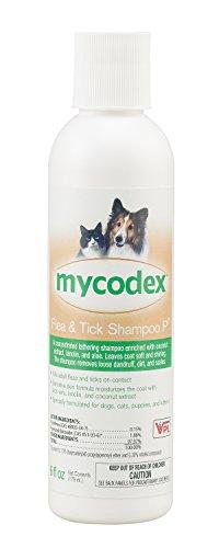 VPL Mycodex Flea & Tick Shampoo P3 [Triple Strength Pyrethrin], 6 oz