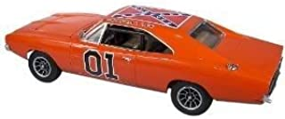 4KIDS Toy / Game Mpc 1969 Black General Lee Dodge Charger Model Kit with Complete Interior and Detailed Parts