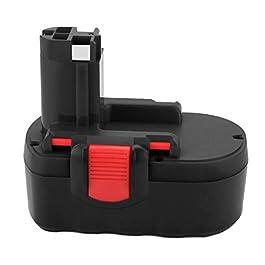 Joiry 18V 3.5Ah Ni-MH Batterie pour Bosch BAT025 BAT026 BAT160 BAT180 2607335277 2607335535 2607335536 2607335266…