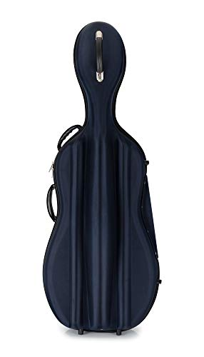 Petz Hartschaum Cellokoffer - 4/4 Cello Case - blau