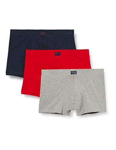 ESPRIT Bodywear Herren Retroshorts Value Pack, 3er Pack, Mehrfarbig (FASHION MULTICOLOUR), Medium (Herstellergröße: 5)