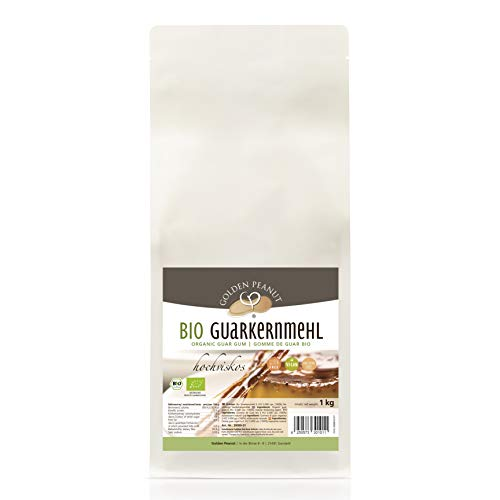 BIO Guarkernmehl E 412 5000 cps. Verdickungsmittel glutenfrei 1 kg DE-ÖKO-003