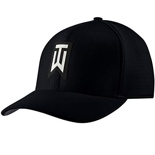 NIKE Unisex AeroBill TW Classic99 Golf Hat Gorra de béisbol, Negro (Negro 010), One Size (Tamaño del Fabricante:M/L) para Hombre