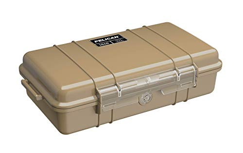 Pelican 1060 Micro Case - for iPhone, GoPro, Camera, and More (Desert Tan)