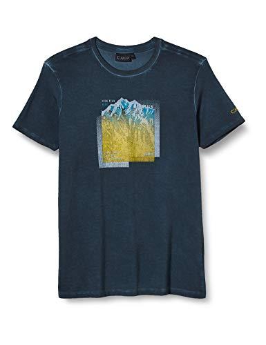 CMP Jungen Elastisches T-Shirt Dyed Jersey, Cosmo, 152