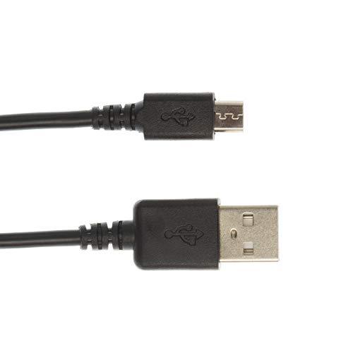 Kingfisher Technology - 90cm zwarte USB-oplader Opladen Vermogen en Data Sync Kabel Adapter (22AWG) Compatibel met Alcatel One Touch Pixi 3 (8) 4G 9023A / 9023X Tablet