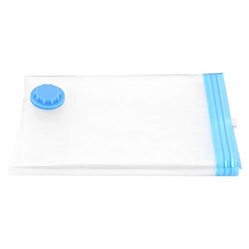 Bolsa de almacenamiento al vacío de 6 uds, bolsas de almacenamiento comprimidas al vacío que ahorran espacio, organizador de viaje de almohada para ropa para el hogar, viajes(Los 70 * 100cm)