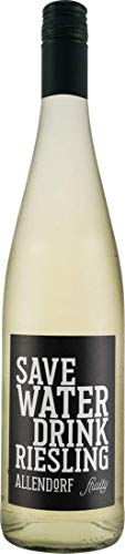 Allendorf Save Water Drink Riesling fruity QbA