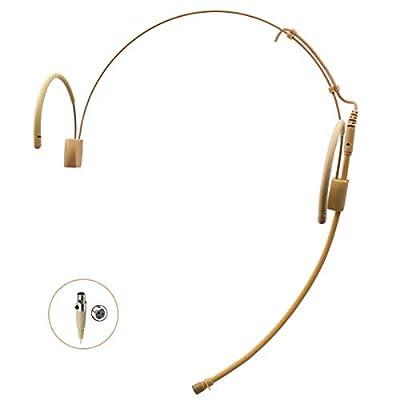 Pro Headset Headworn Earhook Microphone JK MIC-J 060 for AKG SAMSON Wireless Transmitter