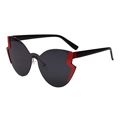 Scrolor Moderne Sonnenbrillen Frauen Eyewear Strahlenschutz Schmetterlings Form neuer Art und Weiseentwurf heißer Verkauf(B,free)