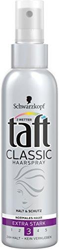 Schwarzkopf 3 Wetter taft Haarspray-Pump Classic normales Haar extra starker Halt 3, 3er Pack (3 x 150 ml)