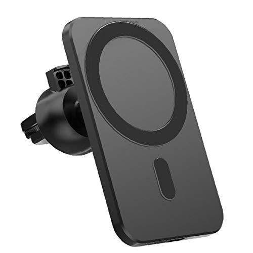 YepYes Cargador inalámbrico magnético Sustitución del Soporte del Coche Monte Negro inalámbrico para iPhone 12 Pro Mini MAX MagSafe