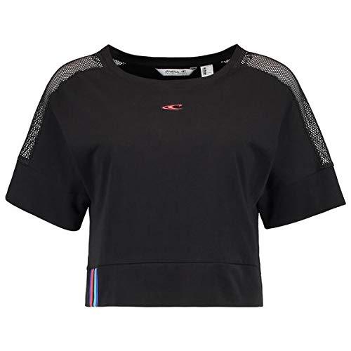 O'NEILL LW Loose Top Street LS Cropped T-Shirt à Manches Courtes pour Femme S Noir Complet