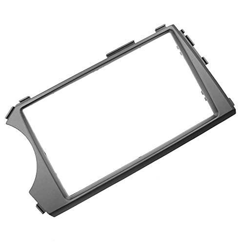 2Din Car Fascia Reacondicionamiento Radio Estéreo DVD Frame Dash Panel Kit de instalación Apto para SsangYong Actyon Kyron 2005+ (Controlador de Mano Izquierda) -178x100mm